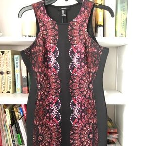 Forever 21 stained glass pattern dress